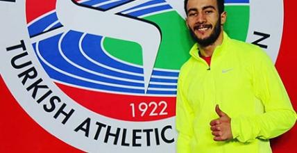 Batuhan Altıntaş'dan U23 Salon Türkiye Rekoru