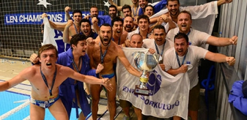 ENKA Sutopu Takımı, Deplasmanlı Sutopu 1'nci Lig Şampiyonu