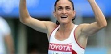 Dünya Atletizm Şampiyonası'nda İlk Rekor Binnaz Uslu'dan