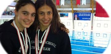 Okullar Arası Yüzme Yarışlarında Sporcularımızdan Başarılar