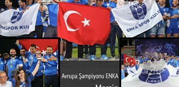 Kulübümüz Avrupa Şampiyonu