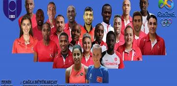 22 Sporcumuz Olimpiyat Oyunlarında