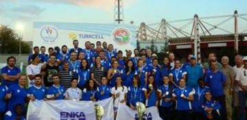 Türkiye Atletizm Süper Ligi'nde A Takımlarımız ŞAMPİYON