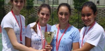 Türkiye Okullar Arası Tenis Şampiyonası'nda Başarılar
