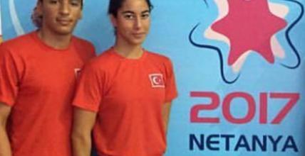 Ümit Can Güreş ve İmge Roza Erdemli'den Türkiye Rekorları