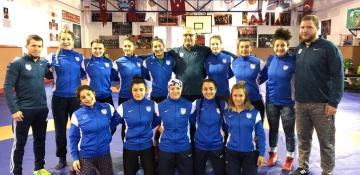 Kadın Güreş takımımız ilk hazırlık kampı için İstanbul'da toplandı