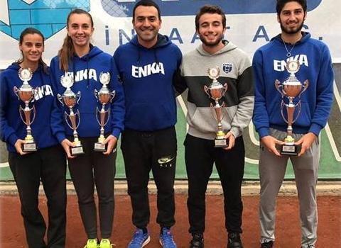 Sporcularımız Büyükler Türkiye Tenis Şampiyonasına damga vurdu