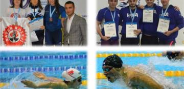 Türkiye Kısa Kulvar Yüzme Şampiyonası'ndan Rekorlar