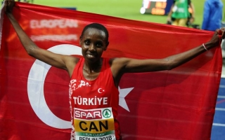 YASEMİN CAN RANKED 3RD in EUROPE in 5000M