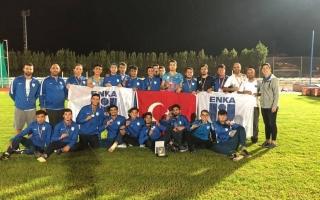 Genç Erkek Atletizm Takımımız Avrupa Üçüncüsü oldu!
