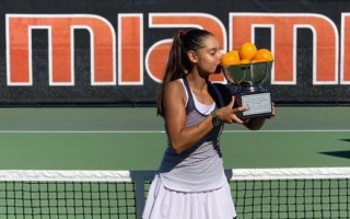 Melisa Ercan 57. Orange Bowl International Tennis Championship'te Kupaya Uzandı