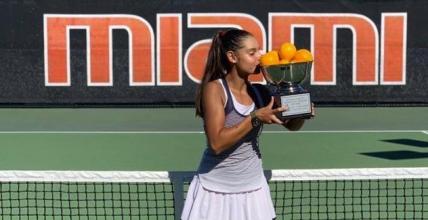 Melisa Ercan 57. Orange Bowl International Tennis Championship'te Kupaya Uzandı
