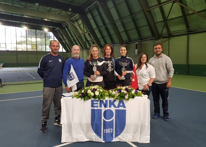 ENKA ITF Junior J4 Turnuvası Çiftler Zaferi