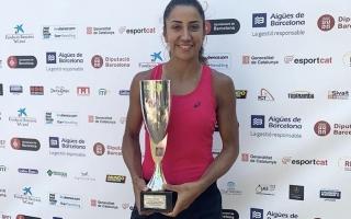 Çağla Büyükakçay Barselona'da Finalist Oldu