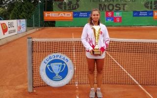 Sporcumuz Melisa Ercan Avrupa İkincisi!