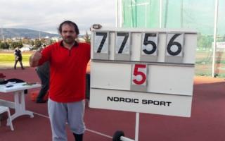 Sporcumuz Eşref Apak'tan Beşinci Olimpiyat Barajı!
