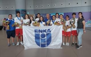 Avrupa Gençler Yüzme Şampiyonası'na Sporcularımız Damgasını Vurdu!
